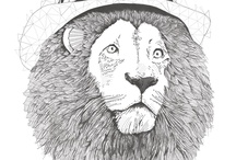 Riley's lion tattoo inspiration  / by Timothy Rodriguez