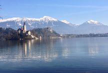 Slovenia / Travelling Slovenia on a budget, including snowboarding the Julian Alps.