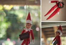 Elf on a shelf ideas!