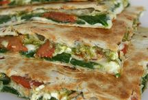 quesadilla/ wraps & rolls etc.