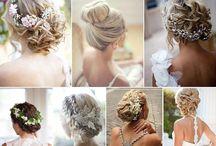 wedding / hair style / Ogni riccio un capriccio - fatti ispirare dalla nostra selezione di acconciature perfette per il grande giorno. ---- Each curly hair on a whim - be inspired by our selection of hairstyles perfect for the wedding day.