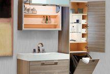 Cabinet below basin