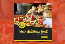 Food Instagram Banner (45% Off)