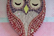 Mosaico de aves