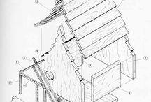 Casette per uccelli - Birdhouse