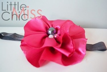 Cute Hair Accessories / Hair accessories for your cuties. / by Michelle Cappiello