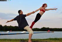 Acro balance dance
