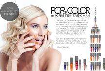 POC Beauty / Pop of Color Beauty by Kristen Taekman is that little hint of something that adds everything to your look! This fabulous nail polish collection is sold exclusively at Ricky's NYC. http://www.rickysnyc.com/nails/pop-of-color.html / by Ricky's NYC