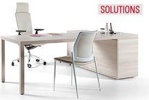 """Catálogo de Mobiliario de Oficina """"Solutions"""" / Un completo catálogo de muebles de #oficina que aportan las mejores soluciones para empresas, auditorios, universidades, hospitales, bibliotecas,… con productos que cumplen las más altas exigencias en la gestión, calidad de producto y sostenibilidad, aportando valor a los proyectos en los que intervienen.  Para más información: http://www.mobiliariosdeoficina.com/nuevo-catalogo-de-mobiliario-de-oficina-solutions/"""