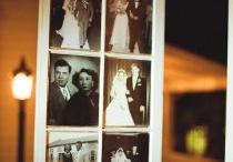 Wedding photo displays