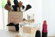 cute make up storage
