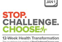 TSFL | Stop.Challenge.Choose. / by Take Shape For Life