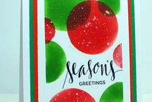 Christmas Cards by Karen Dunbrook- Snippets
