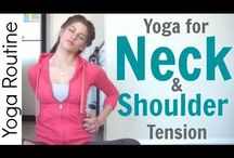 Yoga: Neck & Shoulders: LauraGYOGA / yoga for the neck and shoulders / by Laura Germanio