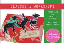 Creative Classes, Seminars & Workshops