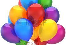 Celebración de cumpleaños, aniversarios. / Imágenes relacionadas con feliz cumpleaños y su celebración. Aniversarios de diferentes eventos, Días especiales.