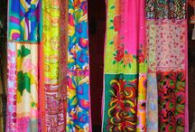 Cortinas Coloridas Creativas ideas´/ Creative Colorful Curtains ideas