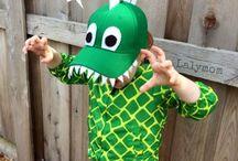 strój dinozaura