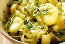 Salades aux pommes de terre