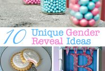 gender reveal party / party ideas / by jessica cruz