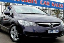 Quality Honda used cars / Honda Civic, Jazz used cars for sale in Melbourne