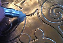 trabalhos papel aluminio