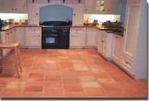 interior - kitchen/living area
