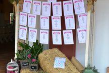 Sitting Plan - Guadalquivir Catering / Diferentes opciones de sitting plan para indicar a tus invitados dónde sentarse en tu boda.  #SittingPlan #WeddingPlanner #Wedding