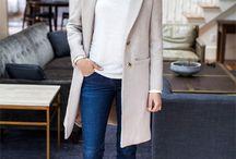 abrigo crema