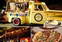 Wedding Food / Such a big part of the day, cater to your vibe and style! Gourmet, Pizza, Food Trucks or Taco! What pickles your fancy!