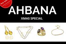 Shiny & Sparkling Xmas / AHBANA Jewelry