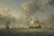 корабли-живопись