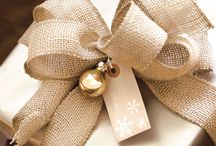 Burlap & gold christmas 2016