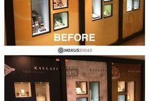 Kallati Jewelry Store at the RCCL Allure of the Seas / Views of the Kallati Jewelry Store we designed and installed for Starboard Cruise Services on board the Allure of the Seas, from Royal Caribbean Cruise Lines.