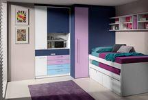 Habitaciones moradas / Habitaciones color lila