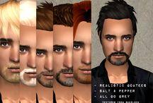 Sims 2 - Facial Hair