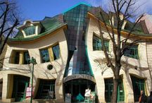 Unusual Hotels and Homes / Unusual and Creative Hotels and Homes - Not your typical residence or lodging accommodations.  / by Marie Felix