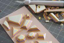 papírékszer