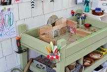 Kids create/organize / by Kristy Hartley