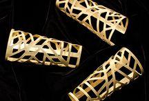 Ornamental Designs / Various ornamental designs via waterjet cutting
