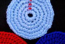 crochê circular