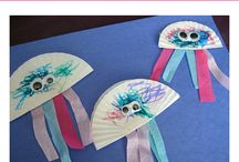 summer crafts / by Toni DeMonte-Rivera