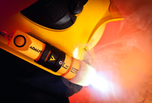 Svítilny Adalit L-5 Plus na tužkové baterie / Fotografie svítilen Adalit určených pro hasiče, záchranáře a všude tam kde je potřeba kvalitních svítilen do výbušného prostředí. Jedná se o výrobky předního výrobce hasičských svítilen společnosti Adaro ze Španělska.