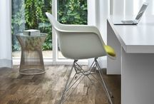 Home Offices & Wood / Get productive, creative and inspired with a Kährs floor in your home office space.