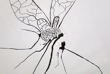Taquem / dibuix tinta a partir d'una taca. 2on eso