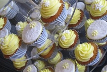 Wedding / yellow & grey with splashes of white