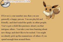 pokemon personalities