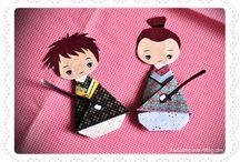 à la manière de ... yuko / Culture japonaise / by Christel Ponsero