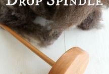 Spinning / Spinning av ull