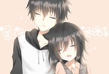 Girl and boy ( ˘⌣˘)♡(˘⌣˘ ) / Not always from anime ;)